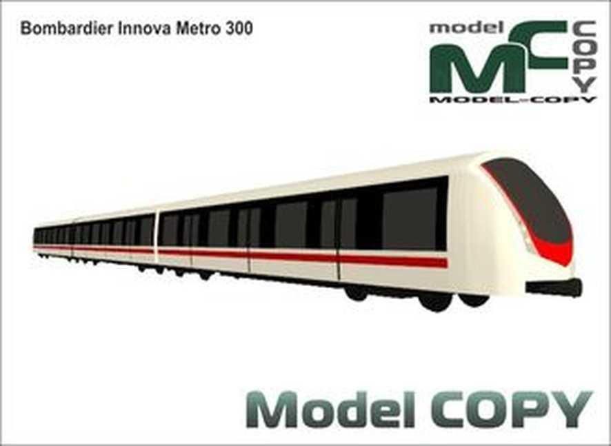 Bombardier Innova Metro 300 - 3D Model