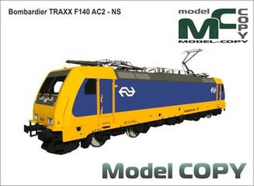 Bombardier TRAXX F140 AC2 - NS - 3D Model