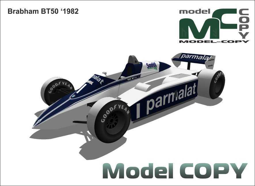 Brabham BT50 '1982 - 3D Model