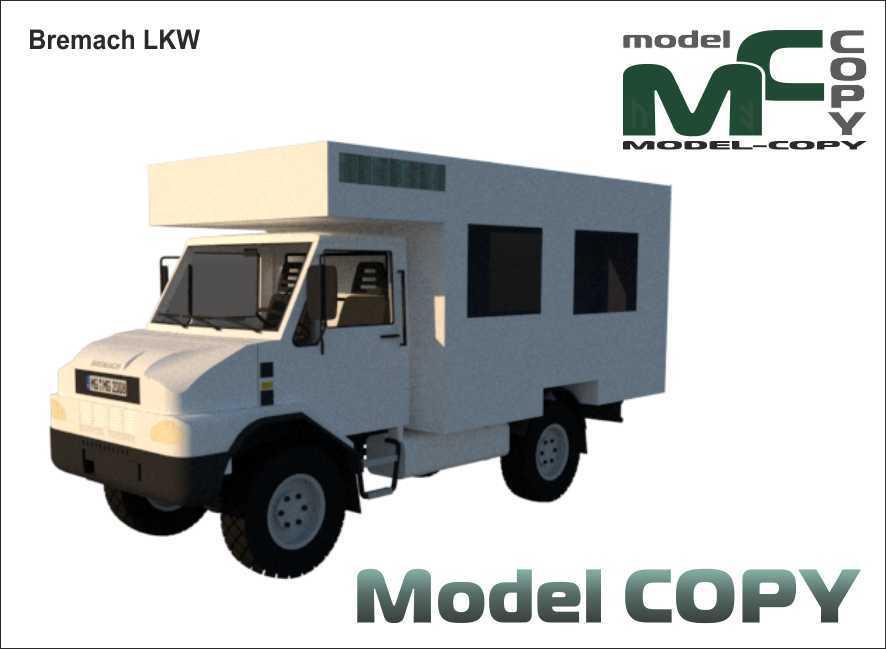 Bremach LKW - 3D Model