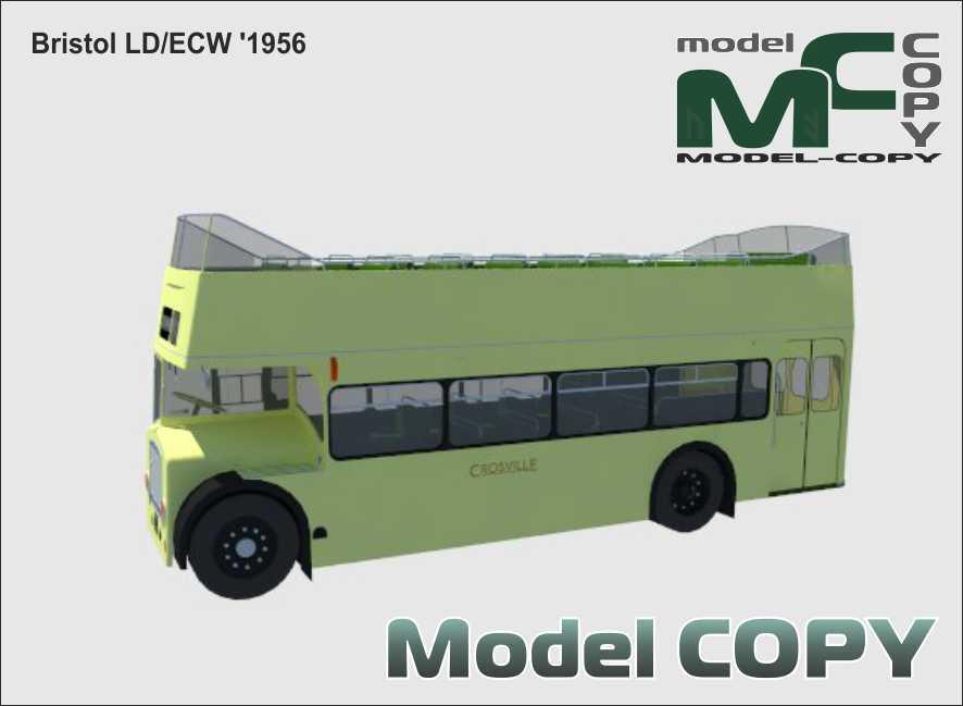 Bristol LD/ECW '1956 - 3D Model