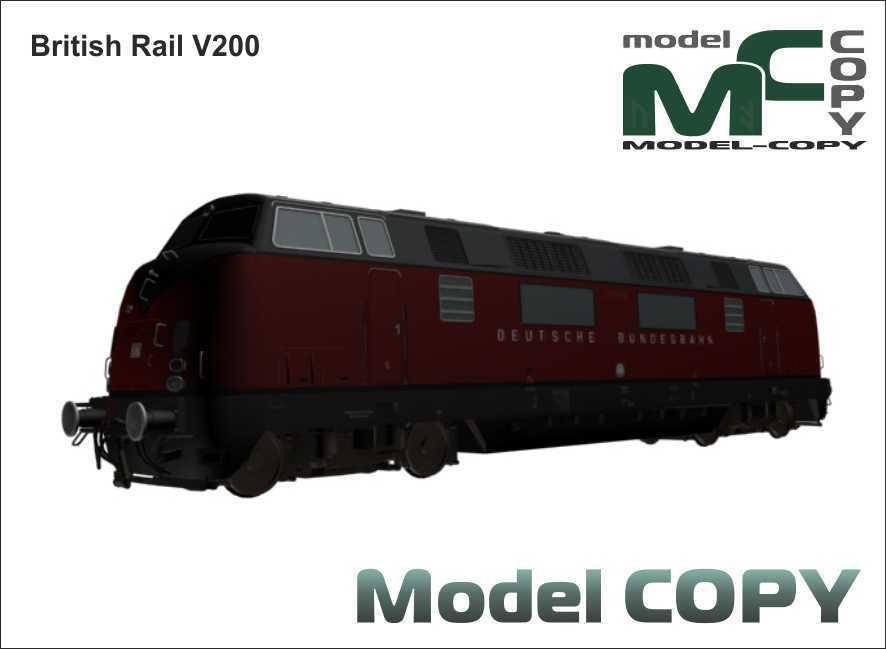 BR V200 - 3D Model