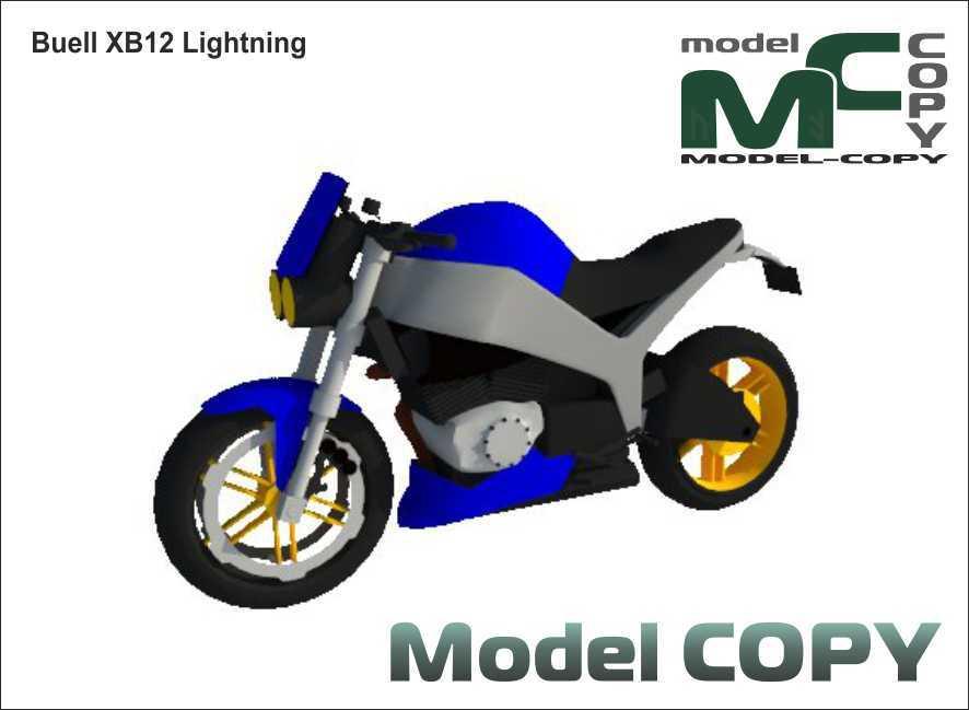 Buell XB12 Lightning - 3D Model