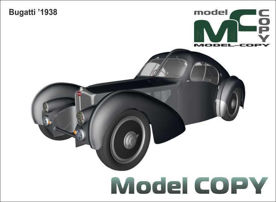 Bugatti '1938 - 3D Model