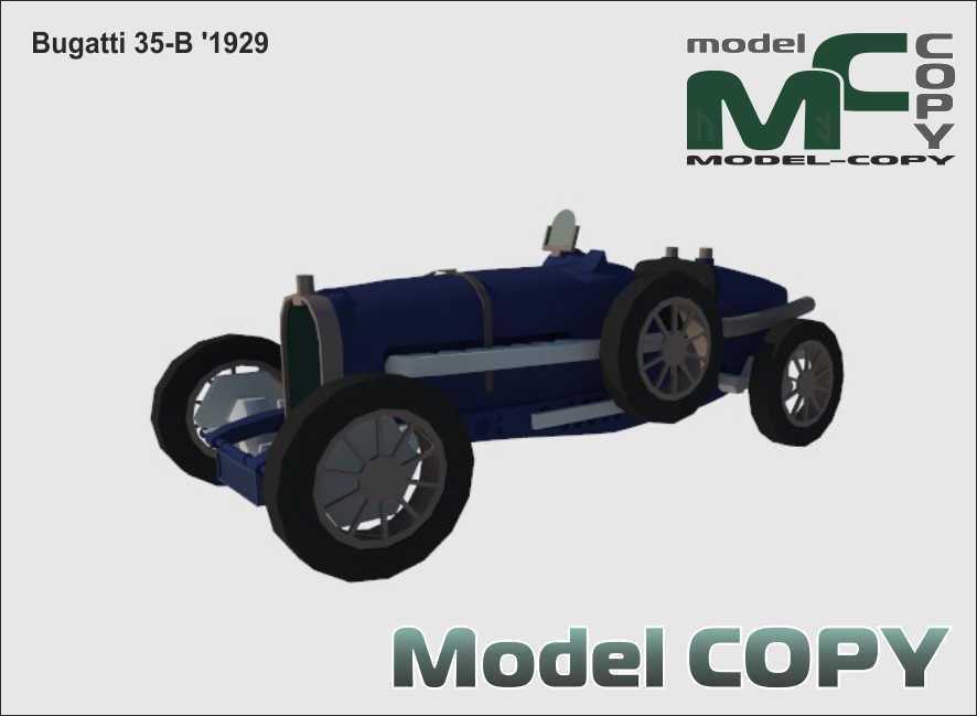 Bugatti 35-B '1929 - 3D Model