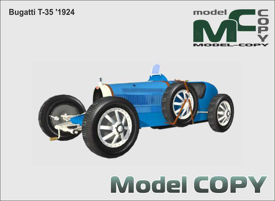 Bugatti T-35 '1924 - 3D Model