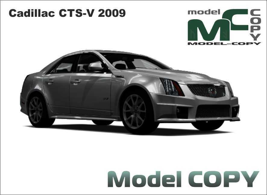 Cadillac CTS-V 2009 - 3D Model