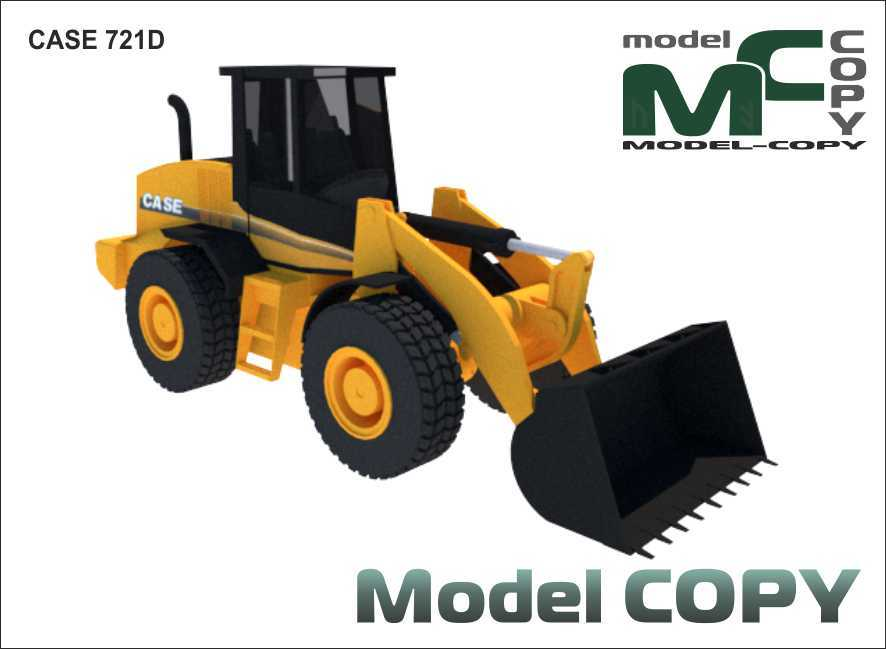 Case 721D - 3Dモデル