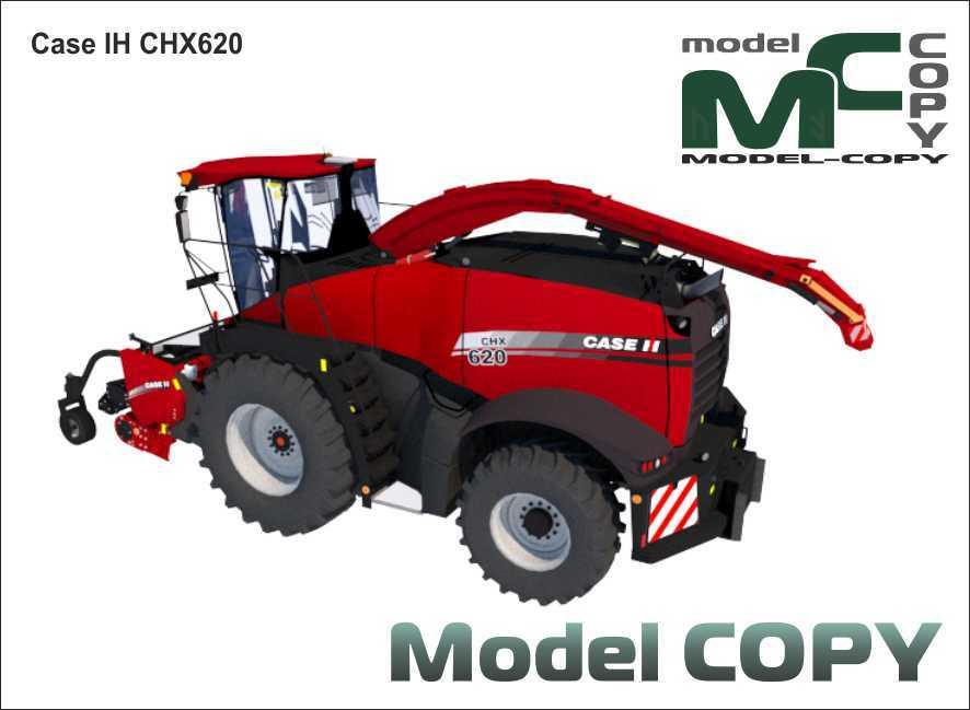 Case IH CHX620 - 3Dモデル