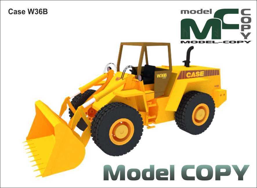 Case W36B - 3D-модель