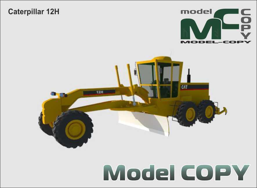 Caterpillar 12H - 3D Model