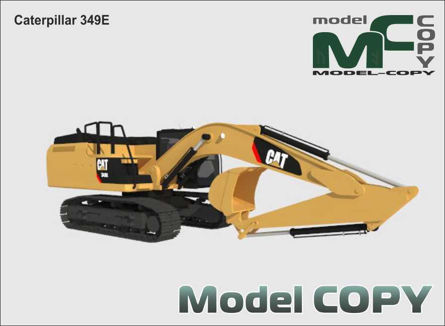 Caterpillar 349E - 3D Model