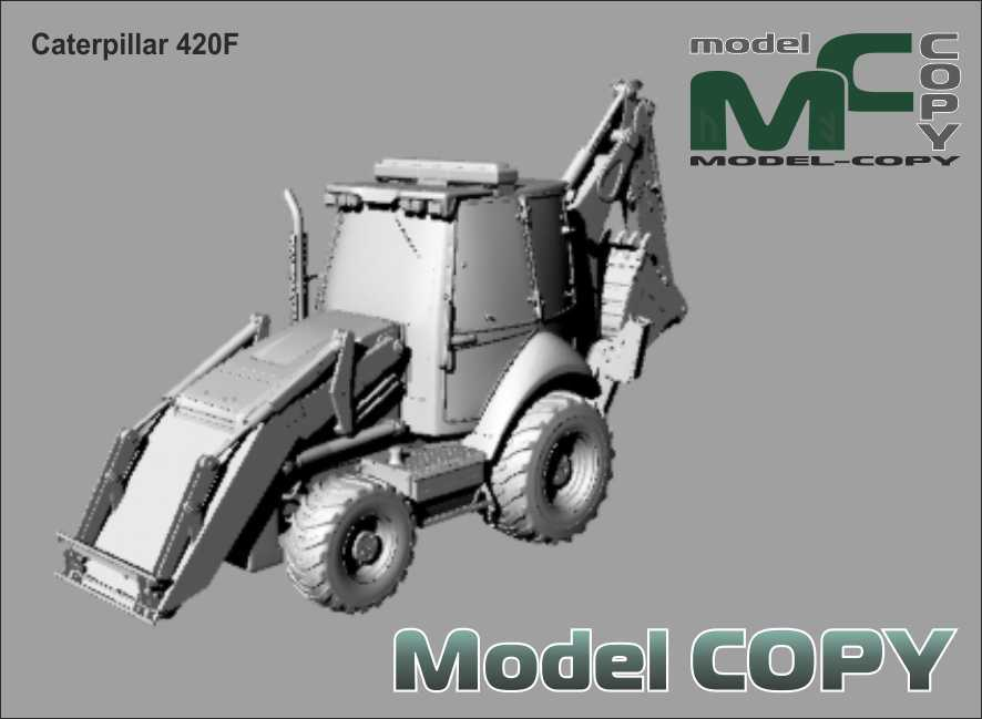 Caterpillar 420F - 3D Model