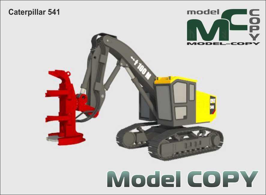 Caterpillar 541 - 3D Model