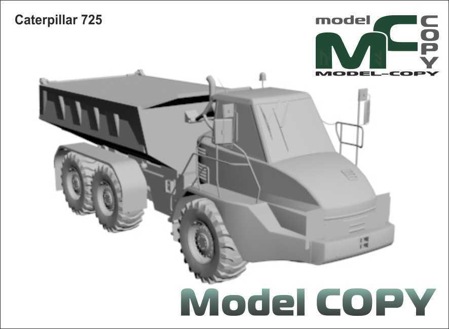 Caterpillar 725 - 3D Model