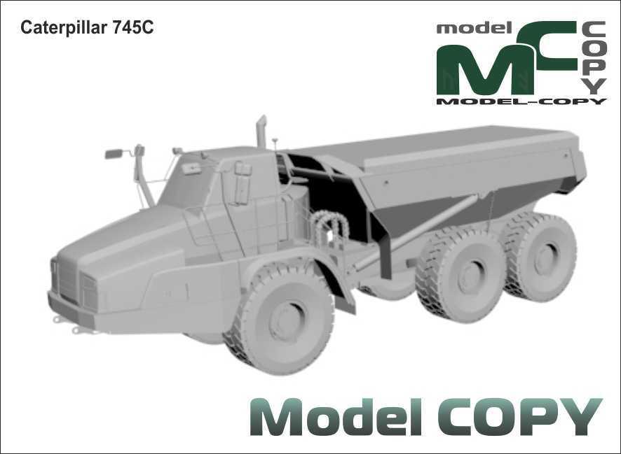 Caterpillar 745C - 3D Model
