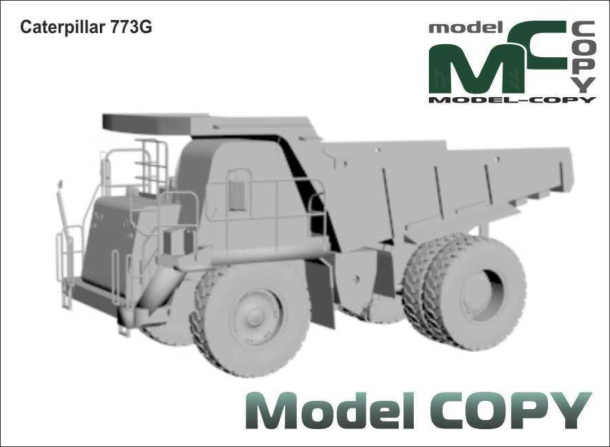 Caterpillar 773G - 3D Model