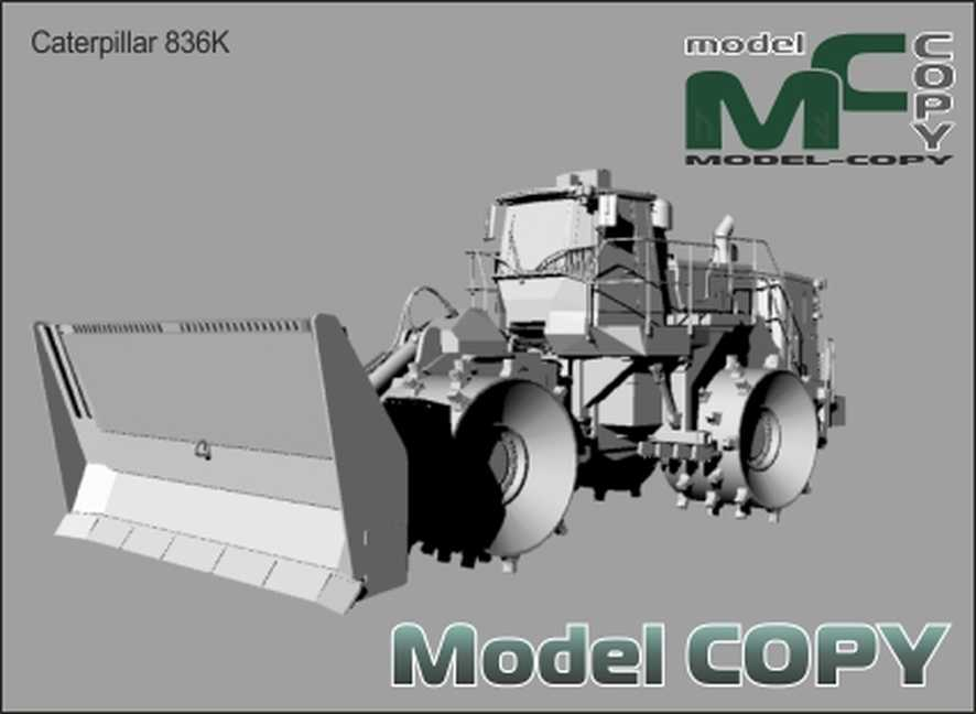 Caterpillar 836K - 3D Model