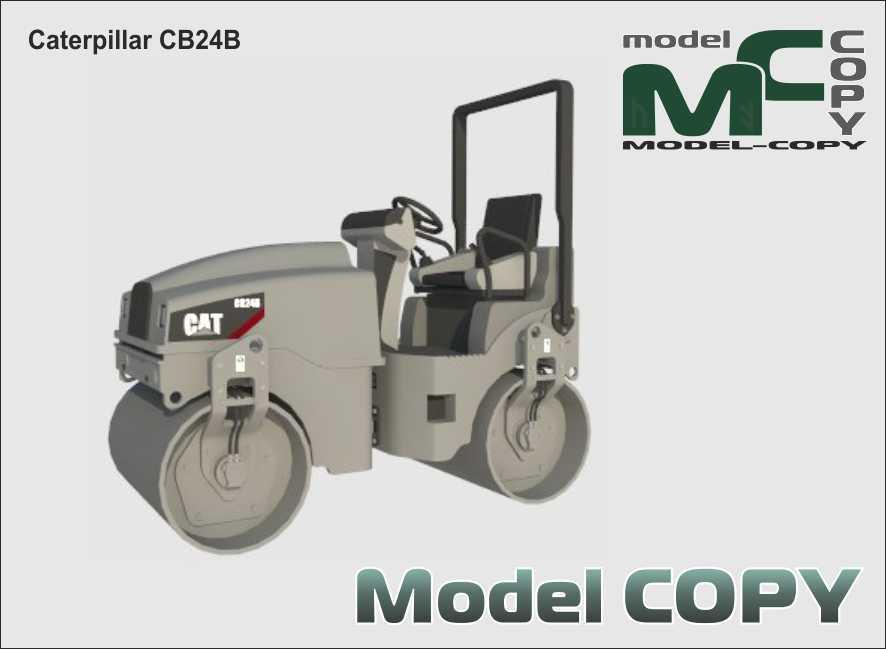 Caterpillar CB24B - 3D Model