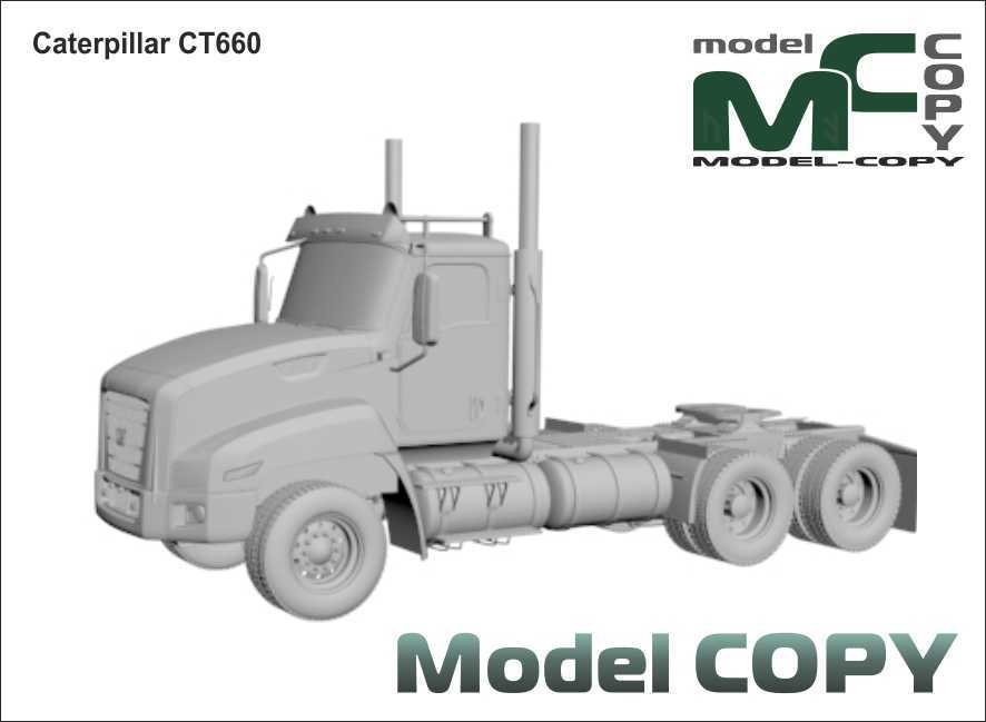Caterpillar CT660 - 3D Model