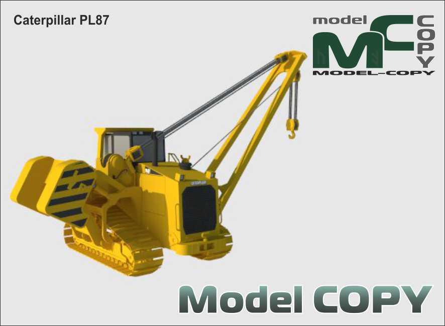 Caterpillar PL87 - 3D Model