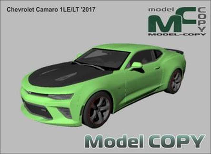 Chevrolet Camaro 1LE/LT '2017 - 3D Model