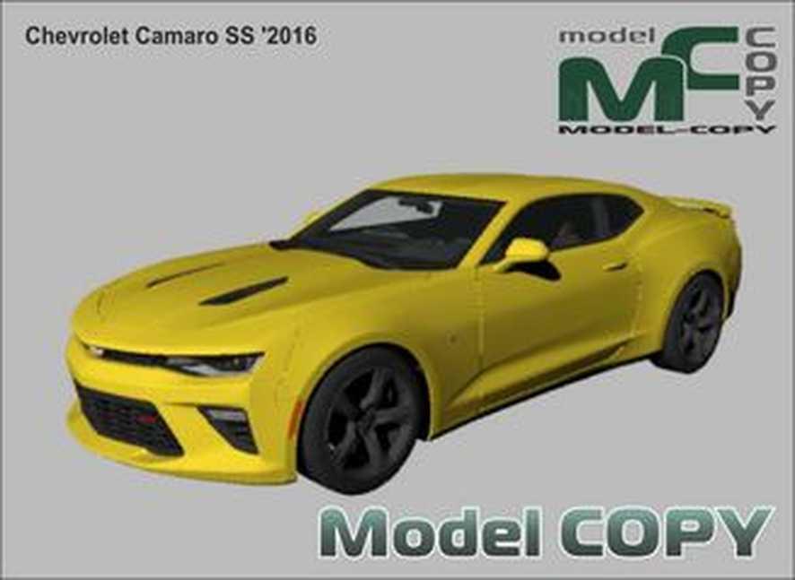 Chevrolet Camaro SS '2016 - 3D-модель