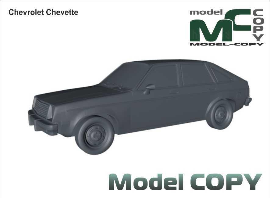 Chevrolet Chevette - 3D Model