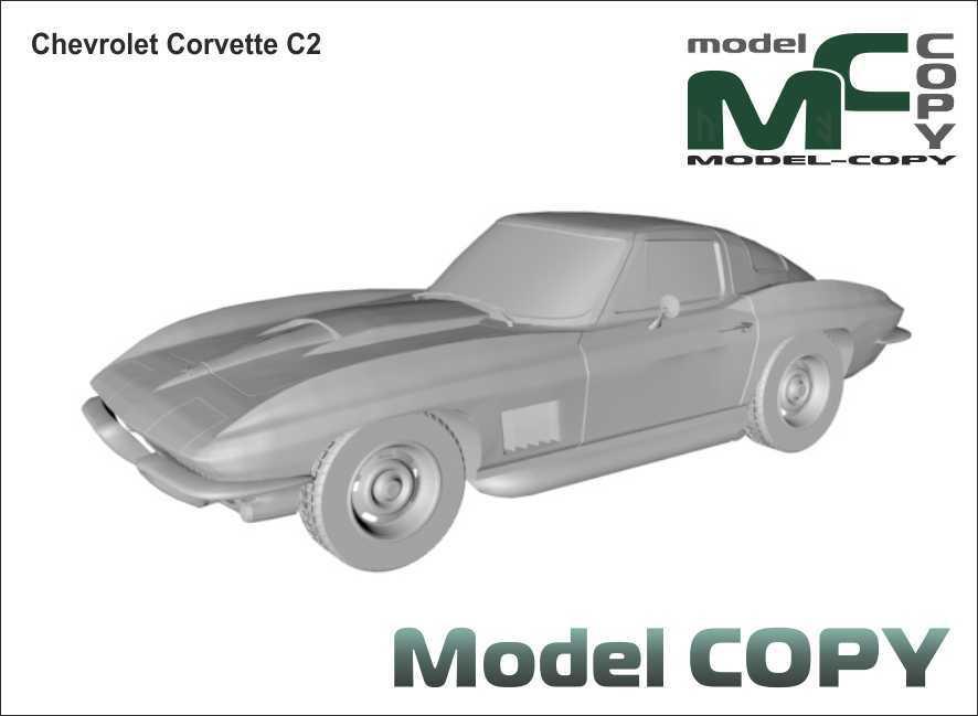 Chevrolet Corvette C2 - 3D Model