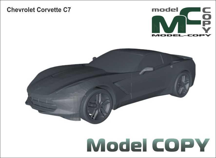 Chevrolet Corvette C7 - 3D Model