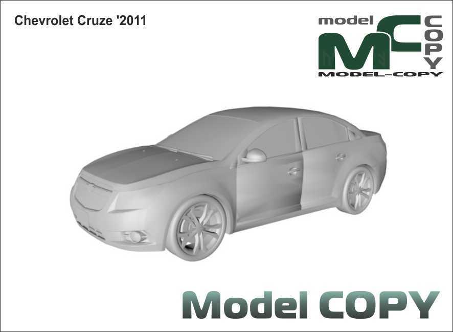 Chevrolet Cruze '2011 - 3D Model