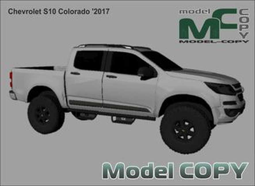 Chevrolet S10 Colorado '2017 - 3D Model