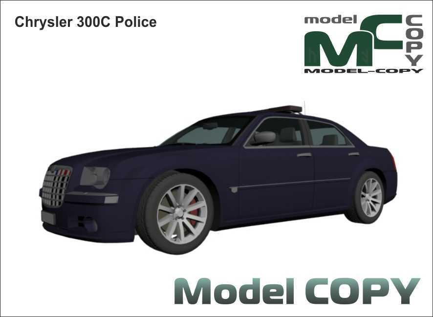 Chrysler 300C Police - 3D Model