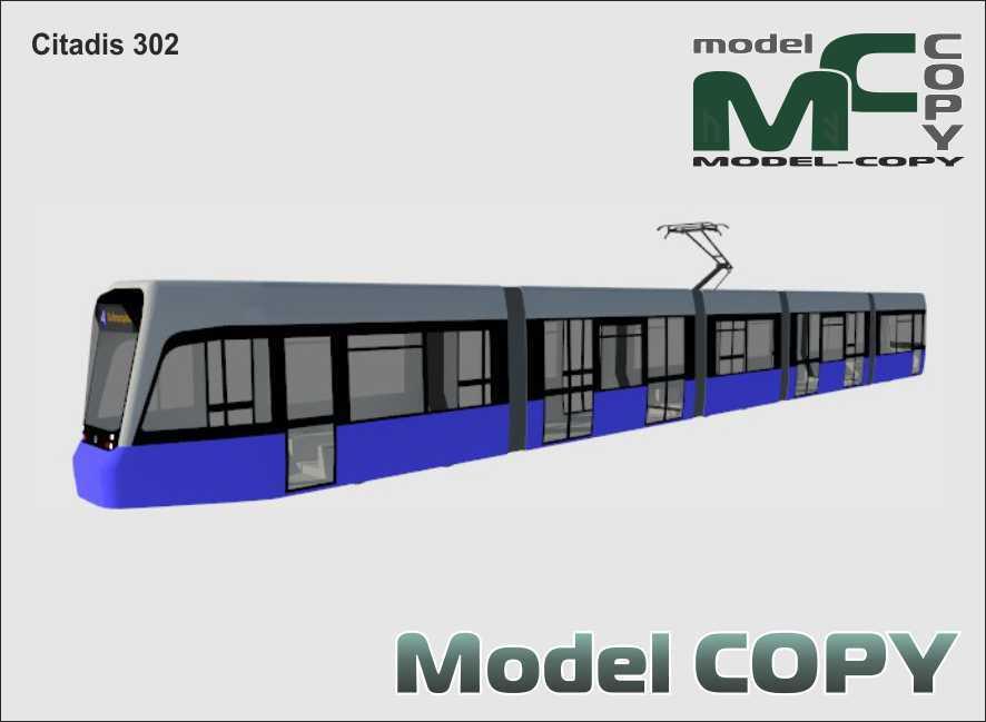 Citadis 302 - 3D Model