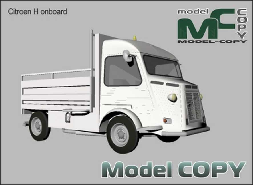 Citroen H onboard - 3D Model