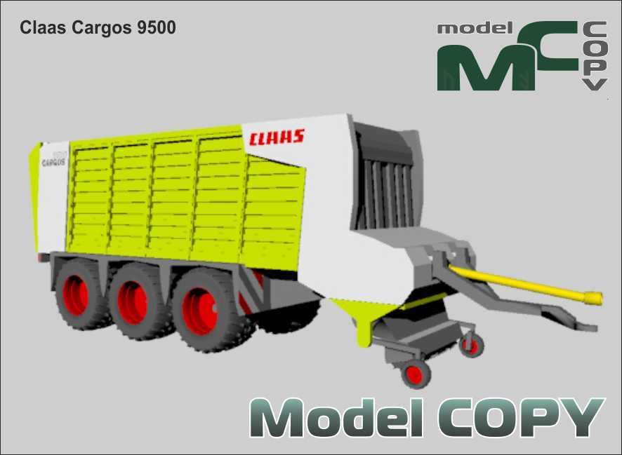 Claas Cargos 9500 - 3D-модель