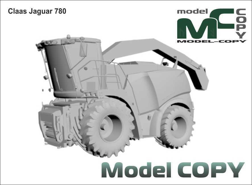 Claas Jaguar 780 - 3D Model