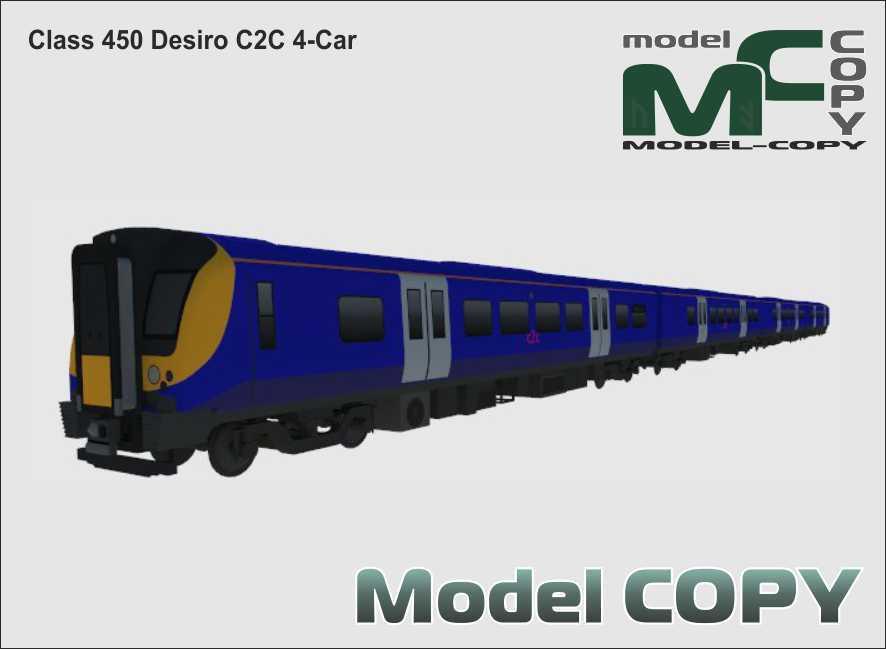 Class 450 Desiro C2C 4-Car - 3D 모델