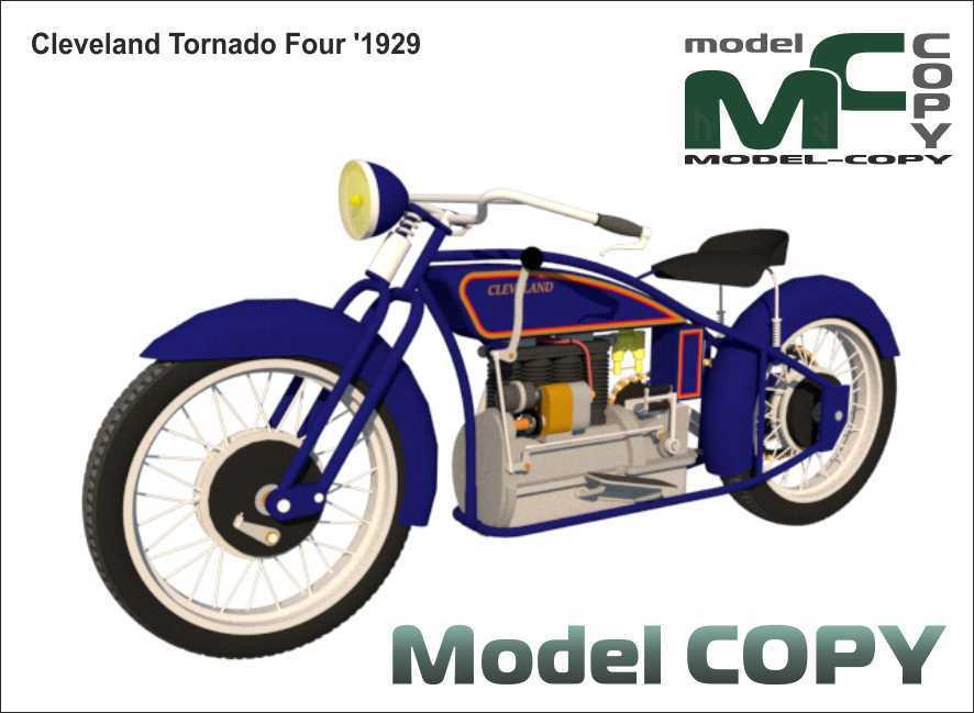 Cleveland Tornado Four '1929 - 3D Model