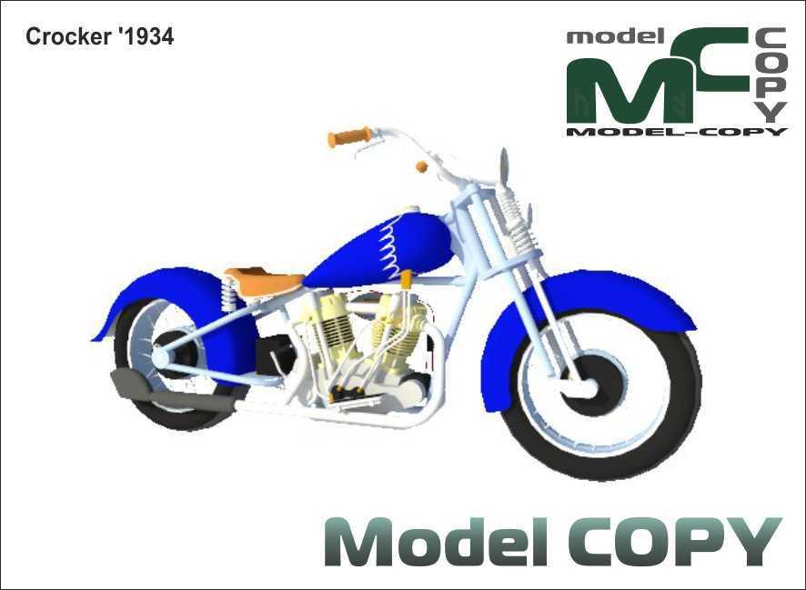 Crocker '1934 - 3D Model