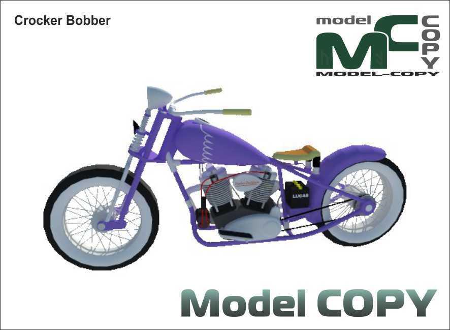 Crocker Bobber - 3D Model