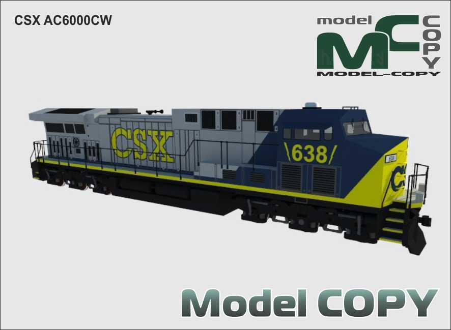 CSX AC6000CW - 3D Model