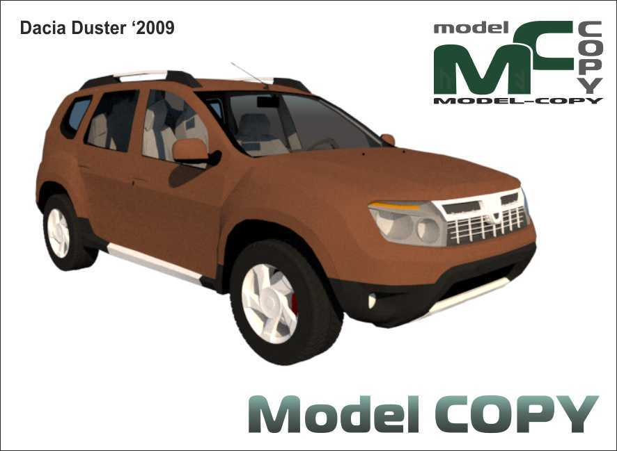 Dacia Duster '2009 - 3D Model