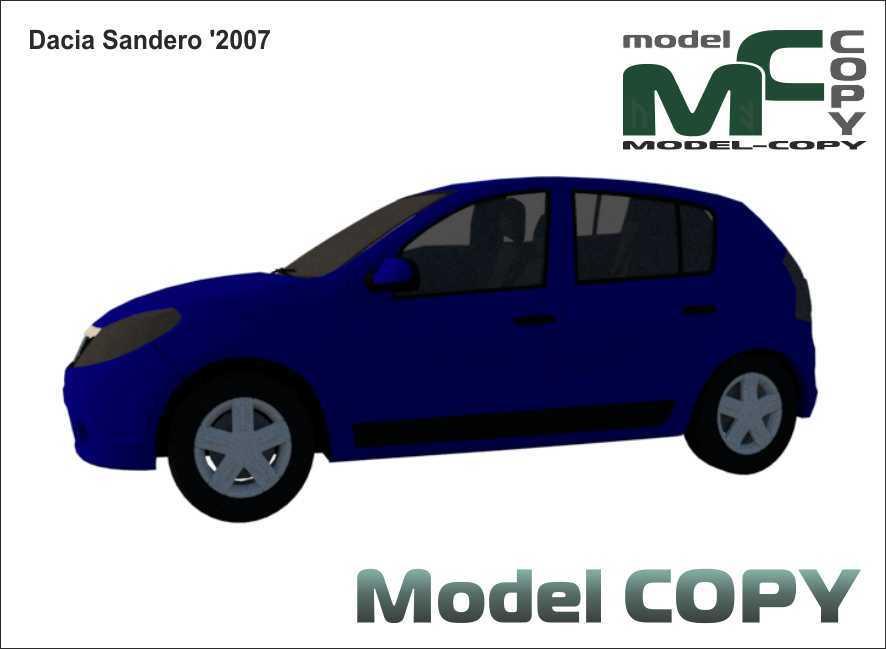 Dacia Sandero '2007 - 3D Model