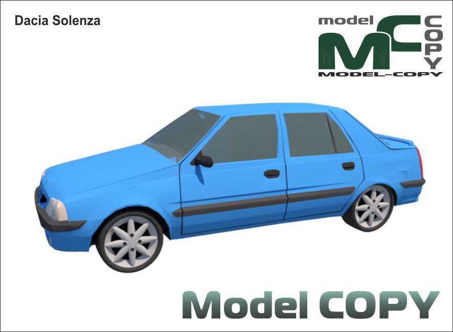 Dacia Solenza - 3D Model