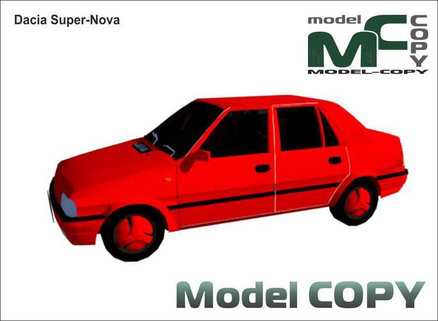 Dacia Super-Nova - 3D Model