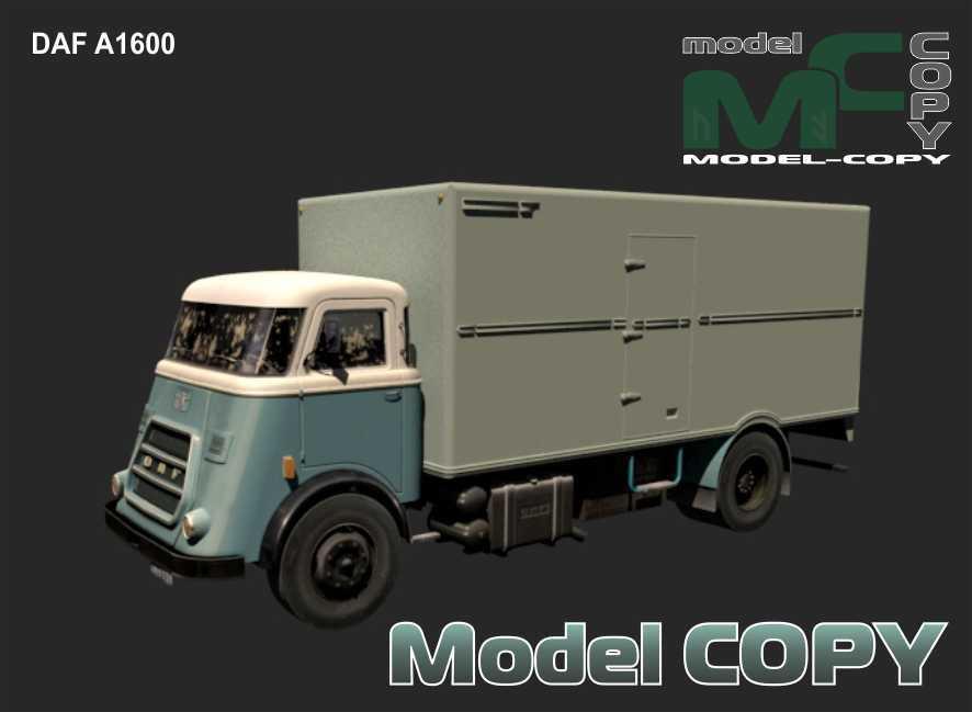 DAF A1600 - 3D Model