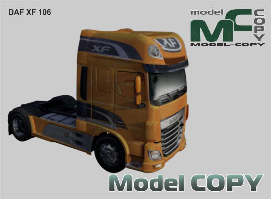 DAF XF 106 - 3D Model