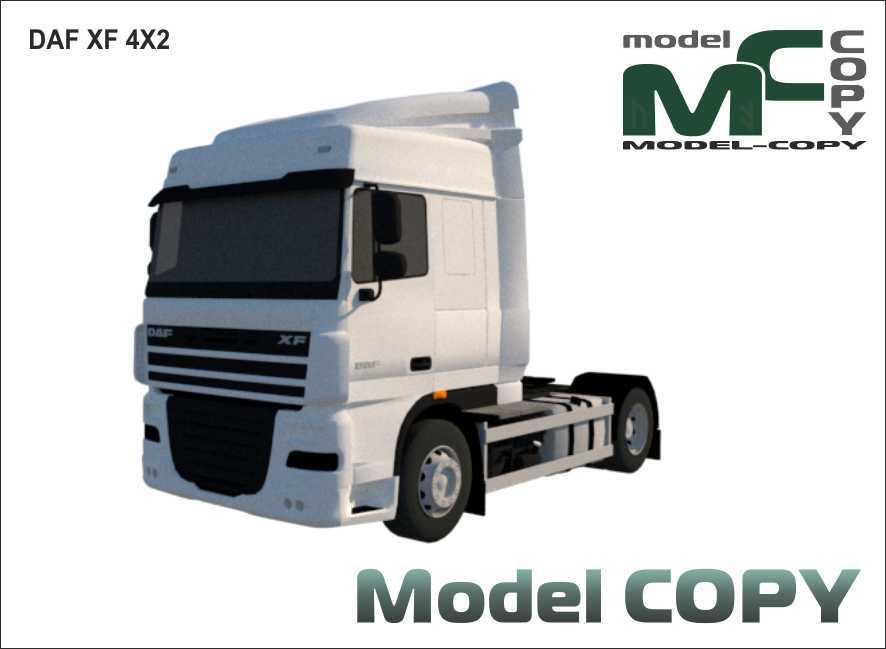 DAF XF 4X2 - 3D Model