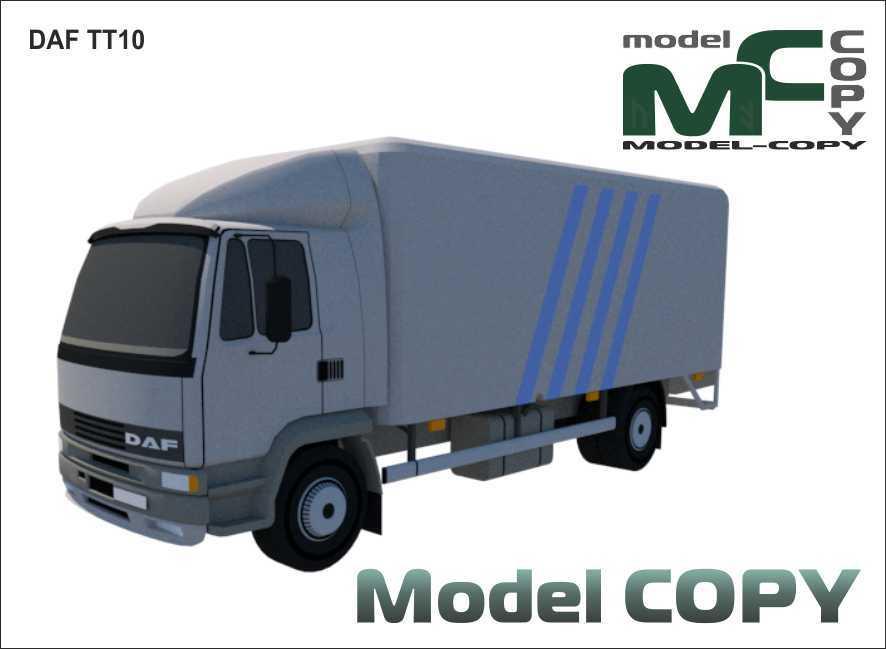 DAF TT10 - 3D Model